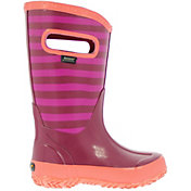 BOGS Kids' Striped 9'' Rain Boots