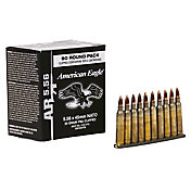 Federal American Eagle 5.56x45mm NATO FMJ Boat Tail Rifle Ammunition – 55 Grain