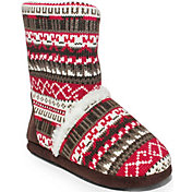 MUK LUKS Women's Short Sherpa Slippers