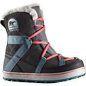 SOREL Women's Glacy Explorer Shortie Waterproof Winter Boots