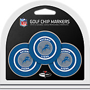 Team Golf Detroit Lions Poker Chips Ball Markers - 3-Pack