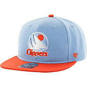 '47 Men's Los Angeles Clippers Sure Shot Light Blue 2-Tone Adjustable Snapback Hat