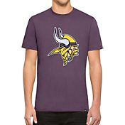 '47 Men's Minnesota Vikings Knockout Fieldhouse Applique T-Shirt