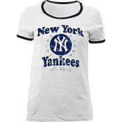 5th & Ocean Women's New York Yankees White T-Shirt