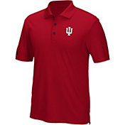 adidas Men's Indiana Hoosiers Crimson Performance Polo