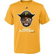 Majestic Youth Pittsburgh Pirates Andrew McCutchen Emoji Gold T-Shirt
