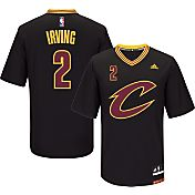 adidas Youth Cleveland Cavaliers Kyrie Irving #2 Pride Black Replica Jersey