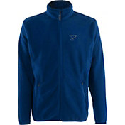 Antigua Men's St. Louis Blues Blue Full-Zip Ice Jacket