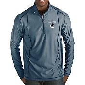Antigua Men's Vancouver Canucks Tempo Half-Zip Pullover Shirt