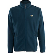 Antigua Men's Nashville Predators Navy Full-Zip Ice Jacket