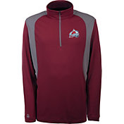 Antigua Men's Colorado Avalanche Delta Red Quarter-Zip Top