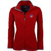 Antigua Women's FC Dallas Red Ice Full-Zip Fleece Jacket
