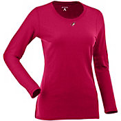 Antigua Women's Arizona Coyotes Red Relax Long Sleeve Shirt