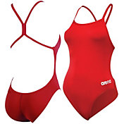 arena Girls' Mast Lightech Back Swimsuit