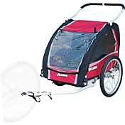Allen Sports Premium 2-Child Bicycle Trailer and Jogger