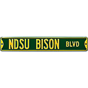 Authentic Street Signs North Dakota State 'NDSU Bison Blvd' Sign