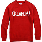 Hillflint Oklahoma Sooners Crimson School Sweater