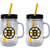 Boelter Boston Bruins 20oz Handled Straw Tumbler 2-Pack