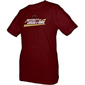 boxercraft Youth Louisiana-Monroe Warhawks Maroon Just for You Crew Wordmark and Logo T-Shirt
