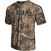 Colosseum Athletics Men's Alabama Crimson Tide Camo Brow Tine T-Shirt