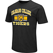 Colosseum Athletics Men's Colorado College Tigers Black Dual Blend T-Shirt