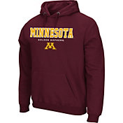 Colosseum Athletics Men's Maryland Terrapins Red Performance Fleece Pullover Hoodie