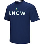 Colosseum Athletics Men's UNC Wilmington Seahawks Navy Pique Performance T-Shirt