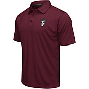 Colosseum Athletics Men's New Mexico State Aggies Maroon Heathered Performance Polo