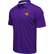 Colosseum Athletics Men's Northern Iowa Panthers Purple Heathered Performance Polo