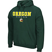Colosseum Athletics Men's Oregon State Beavers Black Performance Fleece Pullover Hoodie