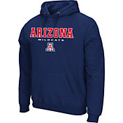 Colosseum Athletics Men's Auburn Tigers Blue Performance Fleece Pullover Hoodie