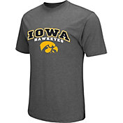 Colosseum Athletics Men's Iowa Hawkeyes Grey Classic T-Shirt