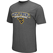 Colosseum Athletics Men's West Virginia Mountaineers Grey Classic T-Shirt