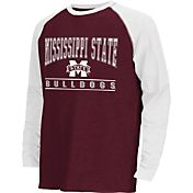 Colosseum Athletics Youth Mississippi State Bulldogs Maroon Krypton Long Sleeve Shirt