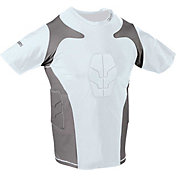 Century Youth Padded Short Sleeve Compression Shirt