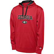 Champion Men's Georgia Bulldogs Red T-Formation Performance Hoodie