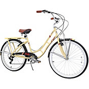 Columbia Women's Hampton 7 Speed Beach Cruiser Bike