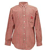 Campus Specialties Men's Rutgers Scarlet Knights Multi-Checkered Woven Long Sleeve Shirt