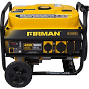 FIRMAN OHV 4500/3650W Portable Generator with Wheel Kit