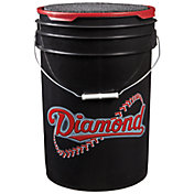 Diamond D-OB Official League Practice Baseballs - Bucket of 30