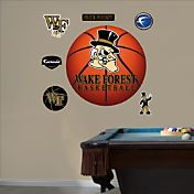 Fathead Wake Forest Demon Deacons Basketball Wall Decal
