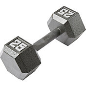 Fitness Gear 25 lb Cast Hex Dumbbell