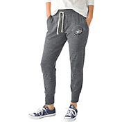 G-III for Her Women's Philadelphia Eagles Tri-Blend Playoff Grey Jogger Pants