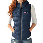 G-III for Her Women's New England Patriots Free Agent Navy Packable Vest