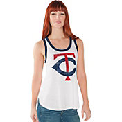 Touch by Alyssa Milano Women's Minnesota Twins White Tank Top