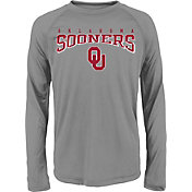 Gen2 Youth Oklahoma Sooners Grey Fadeout Long Sleeve Shirt