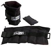 GoFit 5lb Adjustable Ankle Weights