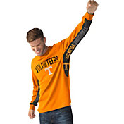 Hands High Men's Tennessee Volunteers Tennessee Orange Gridiron Thermal Long Sleeve Shirt