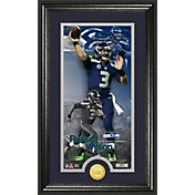 The Highland Mint Seattle Seahawks Russell Wilson Framed 'Supreme' Bronze Coin Photo Mint