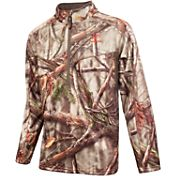 Huntworth Men's Midweight Quarter Zip Long Sleeve Hunting Pullover
